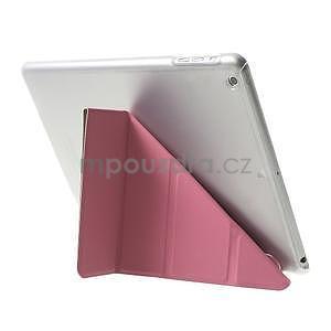 Origami ochranné pouzdro na Apple iPad Air - růžové - 5