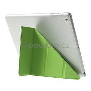 Origami ochranné pouzdro na Apple iPad Air - zelené - 5