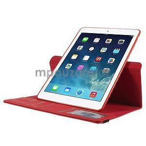 Circ otočné pouzdro na Apple iPad Air - červené - 5