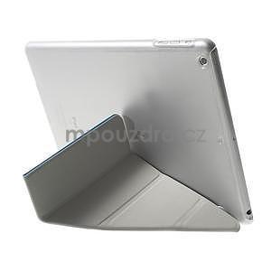 Origami ochranné pouzdro na Apple iPad Air - světle modré - 5