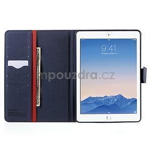 Diary peněženkové pouzdro na iPad Air - červené - 5