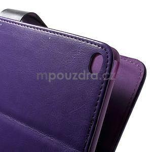 Daffi elegantní pouzdro na iPad Air 2 - fialové - 5