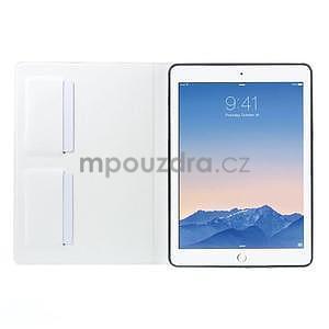 Elegant polohovatelné pouzdro na iPad Air 2 - bílé - 5
