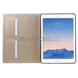 Elegant polohovatelné pouzdro na iPad Air 2 - champagne - 5