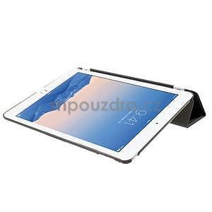 Trifold polohovatelné pouzdro na iPad Air 2 - černé - 5