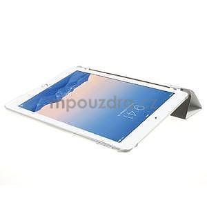 Trifold polohovatelné pouzdro na iPad Air 2 - bílé - 5