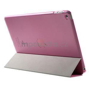 Trifold polohovatelné pouzdro na iPad Air 2 - rose - 5