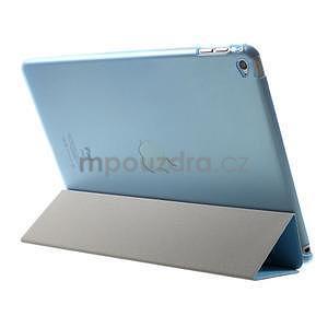 Trifold polohovatelné pouzdro na iPad Air 2 - modré - 5