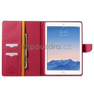 Excelent Diary pouzdro pro iPad Air 2 - oranžové - 5