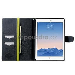 Excelent Diary pouzdro pro iPad Air 2 - zelené - 5