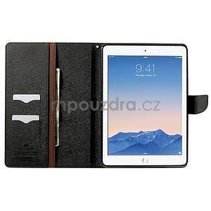 Excelent Diary pouzdro pro iPad Air 2 - hnědé - 5