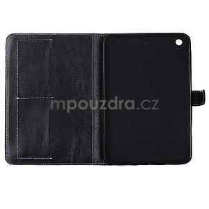 Fashion style pouzdro na iPad Air 2 - černé - 5