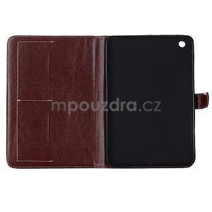 Fashion style pouzdro na iPad Air 2 - hnědé - 5