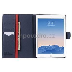 Excelent Diary pouzdro pro iPad Air 2 - červené - 5