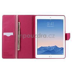 Excelent Diary pouzdro pro iPad Air 2 - růžové - 5