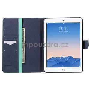 Excelent Diary pouzdro pro iPad Air 2 - azurové - 5