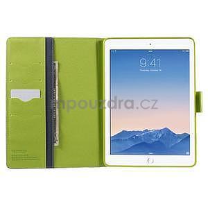 Excelent Diary pouzdro pro iPad Air 2 - tmavěmodré - 5