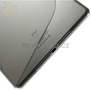 S-line gelový obal na iPad Air 2 - šedý - 5