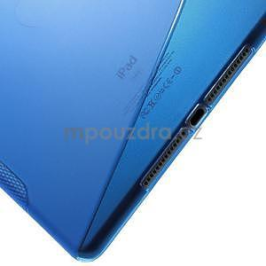 S-line gelový obal na iPad Air 2 - modrý - 5