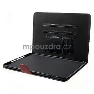Daffi elegantní pouzdro na iPad Air 2 - černé - 5