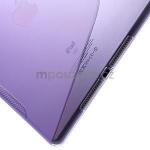 S-line gelový obal na iPad Air 2 - fialový - 5