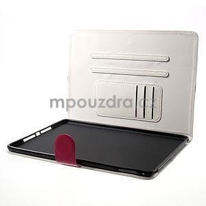 Daffi elegantní pouzdro na iPad Air 2 - bílé - 5