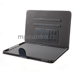 Daffi elegantní pouzdro na iPad Air 2 - šedé - 5