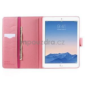 Diary peněženkové pouzdro na iPad Air - rose - 5