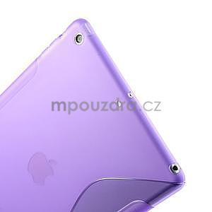 S-line gelový ochranný obal na iPad Air - fialový - 5