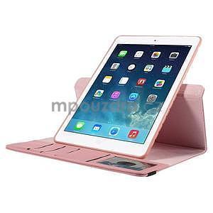Circ otočné pouzdro na Apple iPad Air - růžové - 5