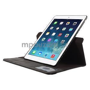 Circ otočné pouzdro na Apple iPad Air - černé - 5