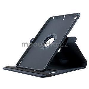 Circu otočné pouzdro na Apple iPad Mini 3, iPad Mini 2 a ipad Mini - tmavěmodré - 5