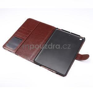 Cloth luxusní pouzdro na Ipad Mini 3, Ipad Mini 2 a Ipad Mini - červené - 5