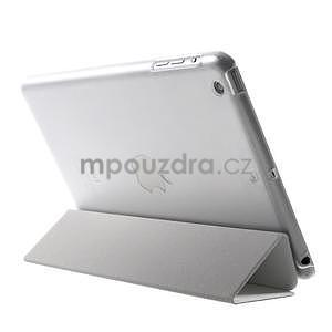 Classic tří polohové pouzdro na iPad Mini 3, ipad Mini 2 a na iPad Mini - bílé - 5