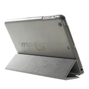 Classic tří polohové pouzdro na iPad Mini 3, ipad Mini 2 a na iPad Mini - šedé - 5