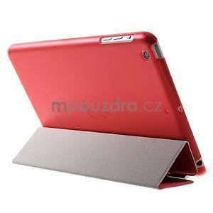 Classic tří polohové pouzdro na iPad Mini 3, ipad Mini 2 a na iPad Mini - červené - 5