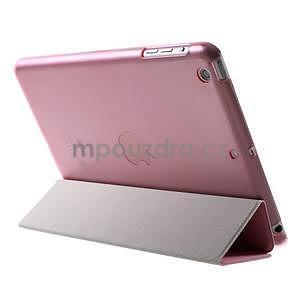Classic tří polohové pouzdro na iPad Mini 3, ipad Mini 2 a na iPad Mini - růžové - 5