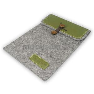 Envelope univerzální pouzdro na tablet 22 x 16 cm - zelené - 5