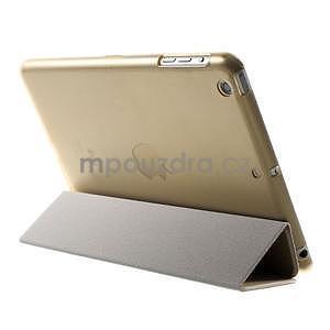Classic tří polohové pouzdro na iPad Mini 3, ipad Mini 2 a na iPad Mini - champagne - 5