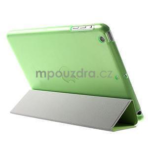 Classic tří polohové pouzdro na iPad Mini 3, ipad Mini 2 a na iPad Mini - zelené - 5