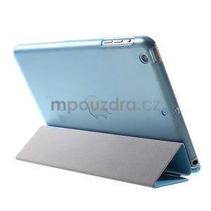 Classic tří polohové pouzdro na iPad Mini 3, ipad Mini 2 a na iPad Mini - modré - 5