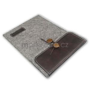 Envelope univerzální pouzdro na tablet 22 x 16 cm - coffee - 5