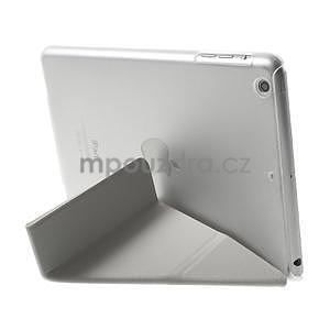 Origami ochranné pouzdro iPad Mini 3, iPad Mini 2, iPad mini - bílé - 5