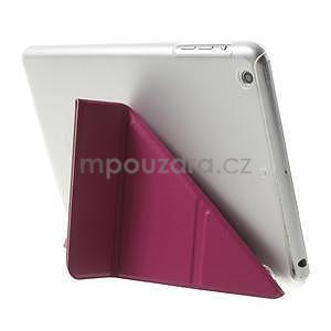 Origami ochranné pouzdro iPad Mini 3, iPad Mini 2, iPad mini - rose - 5