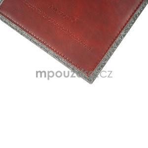 Envelope univerzální pouzdro na tablet 22 x 16 cm - červené - 5