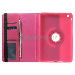 Circu otočné pouzdro na Apple iPad Mini 3, iPad Mini 2 a ipad Mini - rose - 5