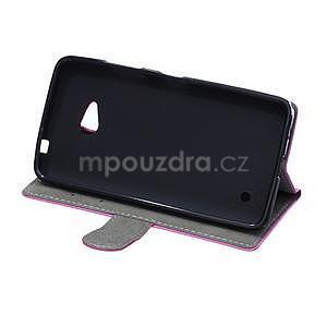 Ochranné peněženkové pouzdro Microsoft Lumia 640 - fialové - 5
