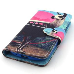 Fun peněženko pouzdro na Samsung Galaxy S3 mini - lama - 5