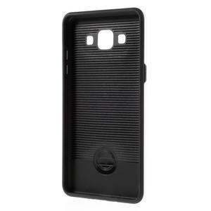 Hybridní gelové/plastové pouzdro na Samsung Galaxy A5 - bílé - 5