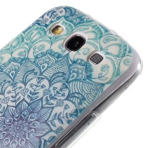 Ultratenký gelový obal na Samsung Galaxy S3 - lotus - 5